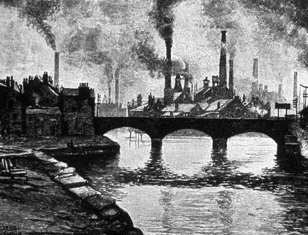 negative impact of second industrial revolution in america